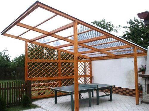 Поликарбонат для крыши монтаж своими руками фото 818