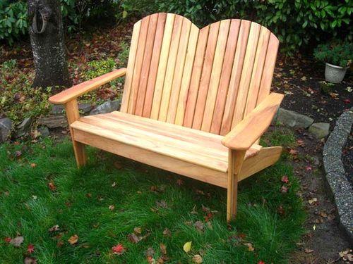 Как изготовить скамейки для беседки из дерева