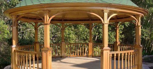 Садовые беседки перголы: материалы и варианты дизайна
