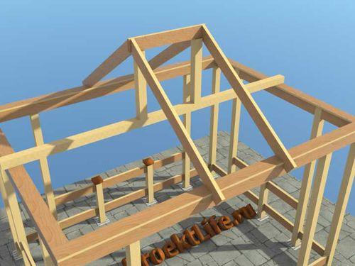 Проект возведения крыши